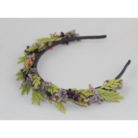 Coronita flor natural Tessa