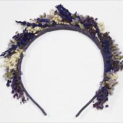 Coronita flor natural Lavander