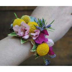 Pulsera flor natural Crespedia