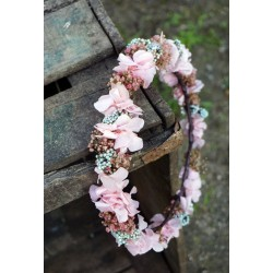 Coronita flor preservada Alexia