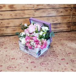 Caja flor