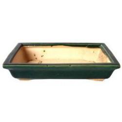Tiesto rectangular 25x15x6 cm verde