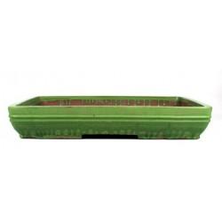 Tiesto rectangular 53x39x10 cm verde
